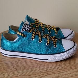 Converse Girls' Chuck Taylor All Star Glitter 3